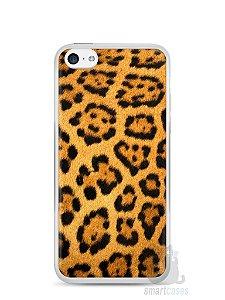 Capa Iphone 5C Estampa Onça #1