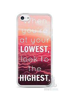 Capa Iphone 5C Frase #1