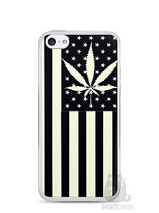 Capa Iphone 5C Maconha Bandeira EUA