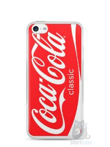 Capa Iphone 5C Coca-Cola