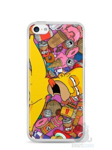 Capa Iphone 5C Homer Simpson Bêbado
