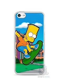 Capa Iphone 5C Bart Simpson Skate