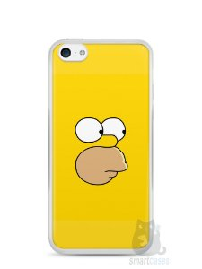 Capa Iphone 5C Homer Simpson Face