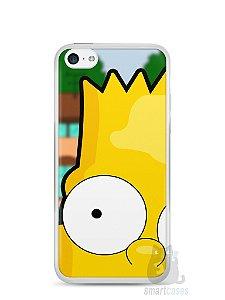 Capa Iphone 5C Bart Simpson Face