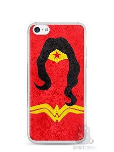 Capa Iphone 5C Mulher Maravilha