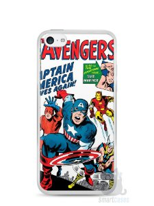 Capa Iphone 5C The Avengers