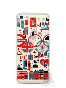 Capa Iphone 5C Londres #4