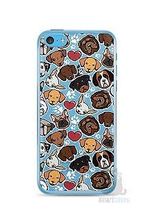 Capa Iphone 5C Cachorros