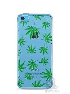 Capa Iphone 5C Maconha #1