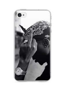Capa Iphone 4/S Tupac Shakur #2