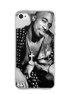 Capa Iphone 4/S Tupac Shakur #3