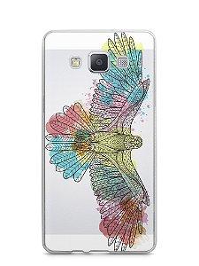 Capa Samsung A5 Águia Colorida