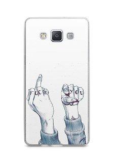 Capa Samsung A5 Fuck You