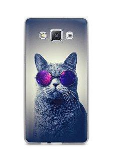 Capa Samsung A5 Gato Galáxia #2