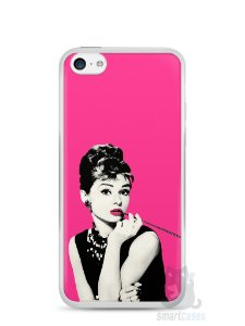 Capa Iphone 5C Audrey Hepburn #4
