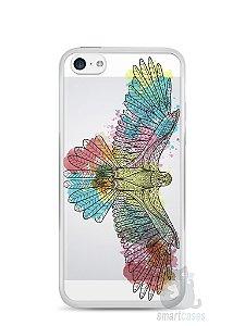 Capa Iphone 5C Águia Colorida