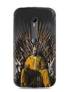 Capa Moto G3 Heisenberg Game Of Thrones