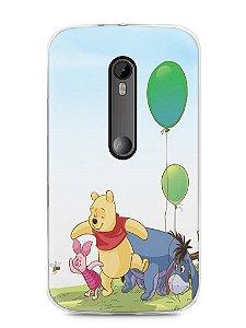 Capa Moto G3 Ursinho Pooh