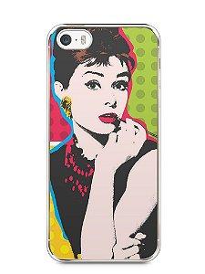 Capa Iphone 5/S Audrey Hepburn #3
