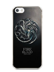 Capa Iphone 5/S Game Of Thrones Targaryen