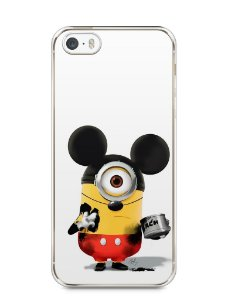 Capa Iphone 5/S Minions Mickey Mouse