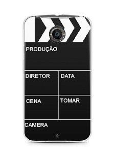 Capa Moto X2 Diretor de Cinema