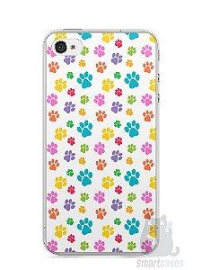 Capa Iphone 4/S Patinhas Coloridas #1