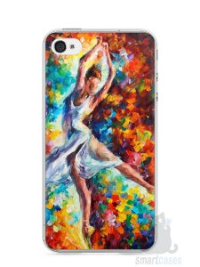 Capa Iphone 4/S Bailarina Pintura