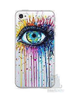 Capa Iphone 4/S Olho Pintura