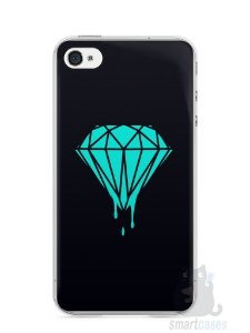 Capa Iphone 4/S Diamante Azul