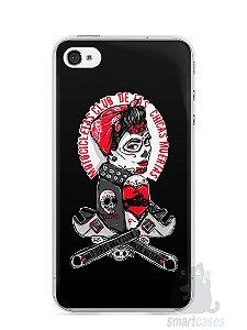 Capa Iphone 4/S Menina Motoqueira
