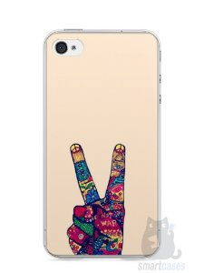 Capa Iphone 4/S Paz e Amor