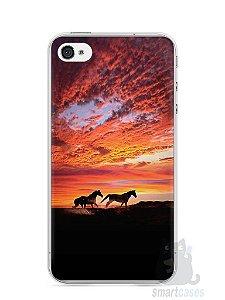 Capa Iphone 4/S Cavalos #1