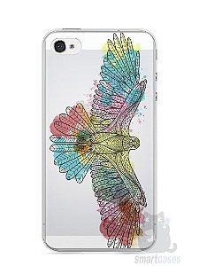 Capa Iphone 4/S Águia Colorida