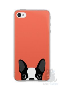 Capa Iphone 4/S Cachorro Bulldog Francês #1