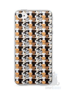 Capa Iphone 4/S Gatos