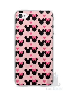Capa Iphone 4/S Mickey e Minnie