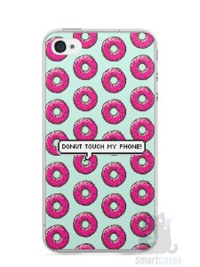 Capa Iphone 4/S Donut Touch My Phone