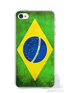 Capa Iphone 4/S Bandeira do Brasil