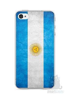 Capa Iphone 4/S Bandeira da Argentina