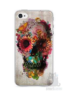 Capa Iphone 4/S Caveira #2