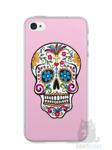 Capa Iphone 4/S Caveira #4