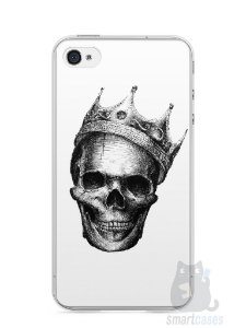 Capa Iphone 4/S Caveira #6