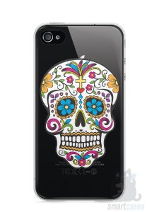 Capa Iphone 4/S Caveira Mexicana