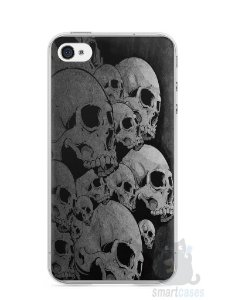 Capa Iphone 4/S Caveiras