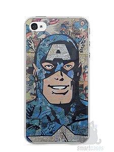 Capa Iphone 4/S Capitão América Comic Books #2