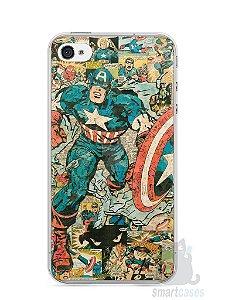 Capa Iphone 4/S Capitão América Comic Books #1