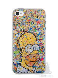 Capa Iphone 4/S Homer Simpson Comic Books