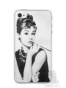 Capa Iphone 4/S Audrey Hepburn #1