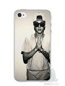 Capa Iphone 4/S Justin Bieber